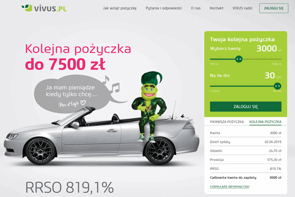 Vivus Płoty  zadzwoń 600 111 551